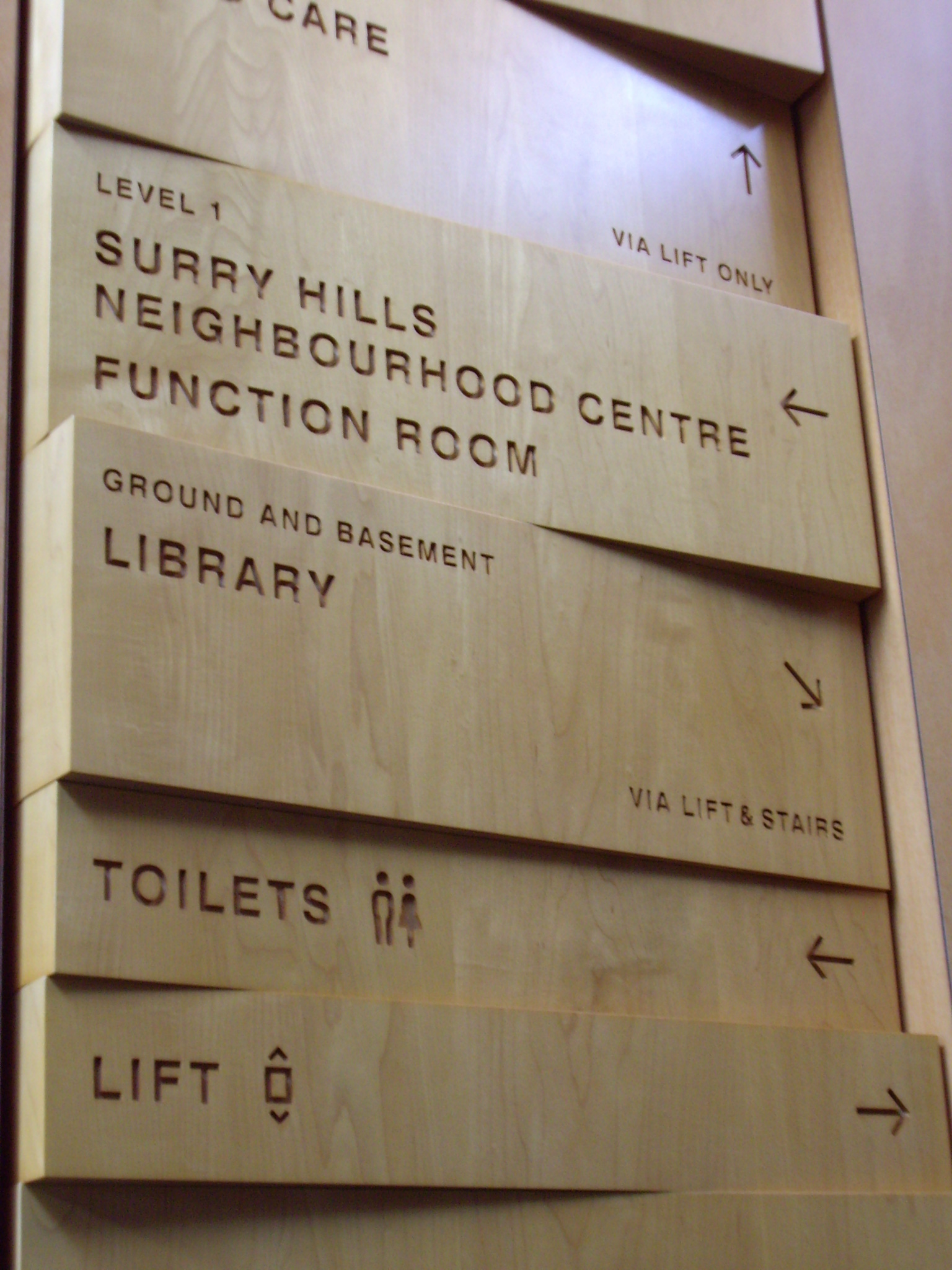 Sign design and specification sydney signs bpconcepts for Designer directory